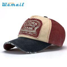 Brand New Unisex Baseball Cap Cotton Motorcycle Cap For Women men 0dcca48bf7ca