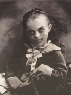 Demonic Black Eyed Children... Don't they all look like this?