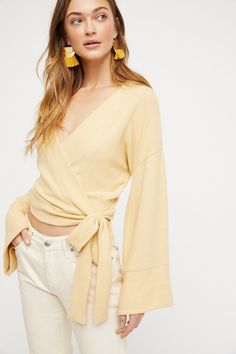 Wrap Me Up Pullover | Free People