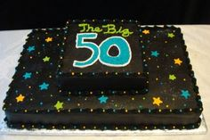 50th Birthday Cake By Cakeasyoulikeit on CakeCentral.com
