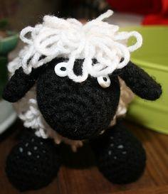 Cute Crochet Sheep