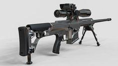 Sniper rifle | 3D Model