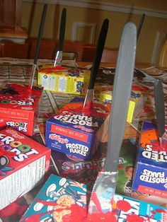 Second grade halloween goody bags cereal killer halloween i was saved time this year as three out of four of my kids opted to wear a ready made costume for halloween either that we already had or t cereal killer ccuart Choice Image