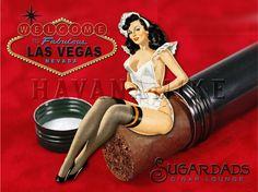 LAS VEGAS Cigar Lounge SUGARDADS Martini Bar by CarlsonBrands, $19.95