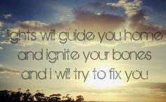 #FixYou #Coldplay #ChrisMartin #song #lyrics