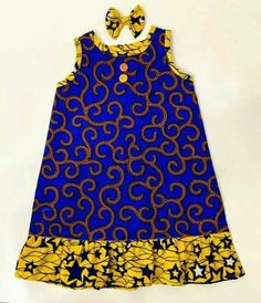 African Dresses For Kids, Latest African Fashion Dresses, Dresses Kids Girl, African Wear, African Attire, Ankara Styles For Kids, Girls, Baby African Clothes, African Print Dress Designs