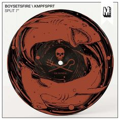 "Boysetsfire / KMPFSPRT - Split 7"" | Uncle M Shop"