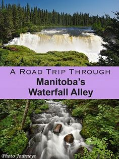 Road Trip Through Manitoba's Waterfall Alley - Photo Journeys Places To Travel, Places To See, Travel Stuff, Canada Destinations, Vacation Destinations, Vacation Ideas, Backpacking Canada, Voyage Canada, Manitoulin Island
