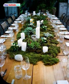 wedding table centerpiece ideas garden decoaration