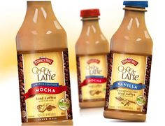 Iced Coffee package design for Turkey Hill