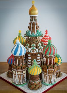 Gingerbread House, St. Basil, Moscow