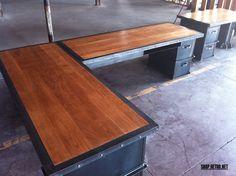 Vintage Industrial Inspired Furniture vintage industrial office furniture