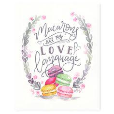 Macarons - Print. Ma