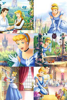 The Disney Princess Life - Cinderella Deco Disney, Disney Nerd, Disney Fan Art, Cute Disney, Walt Disney, Disney Stuff, Cinderella And Prince Charming, Disney Princess Cinderella, Disney Marvel