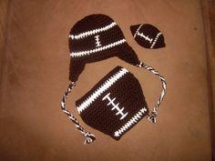 Crochet Baby Boy Football Diaper Covers Ideas For 2019 Newborn Football, Baby Boy Football, Football Baby Shower, Handmade Baby Gifts, Baby Boy Gifts, Baby Shower Gifts, Crochet Photography Props, Crochet Photo Props, Newborn Photography