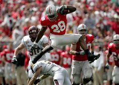 Ohio+State+Buckeyes+Football | Marvin Fong / Plain Dealer Buckeyes running back Beanie Wells hurdles ...