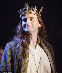 PHOTOS: First Look At David Tennant As Richard II | DAVID TENNANT NEWS UPDATES