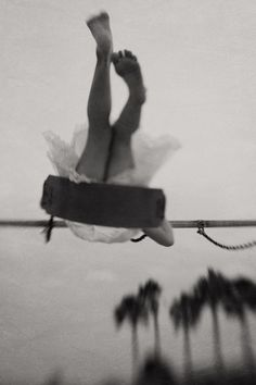 A lovely image of a girl on a swing, by  Deb_S