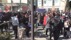 Вести.Ru: Во время парижских беспорядков петарда попала в корреспондента ВГТРК