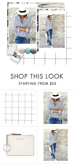 """""""gaaga"""" by gazuf ❤ liked on Polyvore featuring WithChic, Marc Jacobs and Rebecca Taylor"""