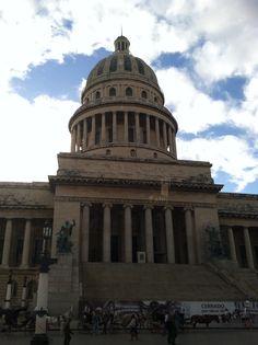 The Capitol Bldg of Havana