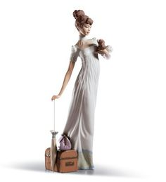 Lladro Traveling Companion $390.  Love this one!  Reminds me of Gigi...