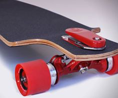 Avoid some gnarly wipe outs by riding with the longboard skateboard brakes. A foot pedal mounted at the front activates a powerful braking system designed to...