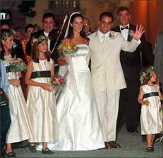 juan pablo montoya wedding picture