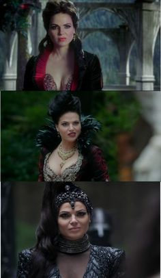 Evil Queen <3 Diva! You go girl! Love her outfits! - OUAT