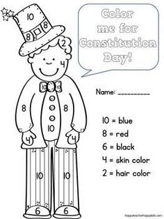 Constitution Day Math & Literacy Activities