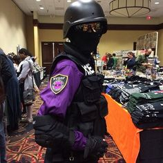 Sheriff's secret police cosplay  Welcome To Night Vale This is beautiful.