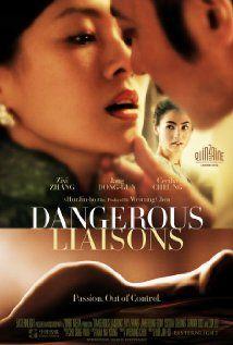 Dangerous Liaisons Cecilia Cheung Zhang Ziyi Art Movies Good Movies 2012 Movie