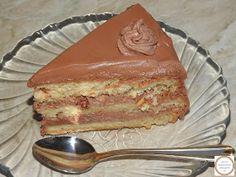 Prajitura cu crema de mascarpone Nutella, Pie, Desserts, Food, Fine Dining, Torte, Cake, Meal, Fruit Pie