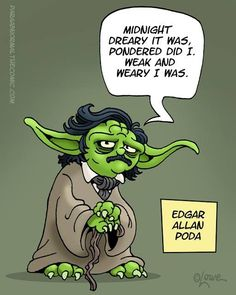 geeking out right now! Poe and Yoda rolled into one!