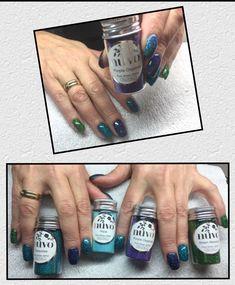 Pure Sheen Glitter im Nagelstudio – Kreative Bastelideen