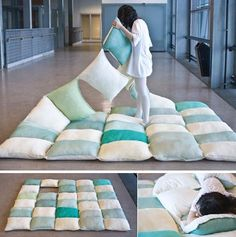 Creative Pillows and Cool Pillow Designs (18) looking good :) definitely a WANT !