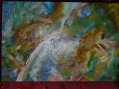 """24"""" X 35"""", Oil on Canvas, """"Noise"""" by Paul Brown"""