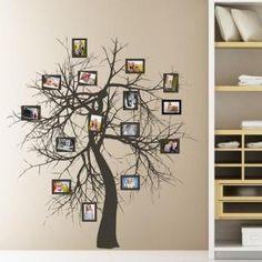 Nálepka na stenu - Rozkonárený strom a galéria