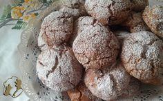 Galletas con chocolate y harina de garbanzos