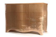 3 Drawer George by Gareth Neal, made from ash