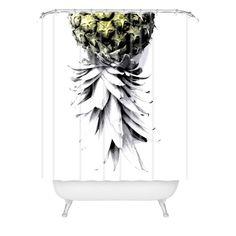 Deb Haugen Pineapple Shower Curtain
