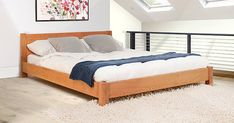 Low Tokyo Wooden Bed Frame by Get Laid Beds