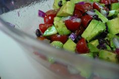 Guacamole Salad (Barefoot Contessa) Ina Garten - saw this recipe on tv yesterday and it sounds so yummy - can't wait to try it