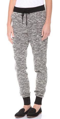 fashionable sweatpants. i think yes