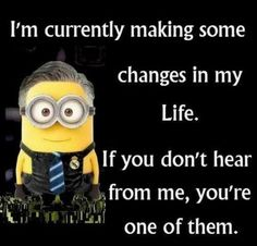 Funny Minions from Tucson PM, Friday September 2016 PDT) - 15 pics - Minion Quotes Funny Minion Pictures, Funny Minion Memes, Minions Quotes, Funny Texts, Funny Jokes, Hilarious, Epic Texts, Funny Pics, Minion Sayings
