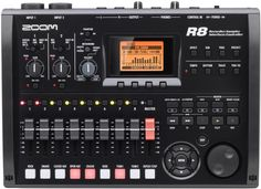 Zoom R8 8-Track Digital Recorder - DAW Controller - Audio Interface