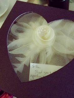 From the Bride <3