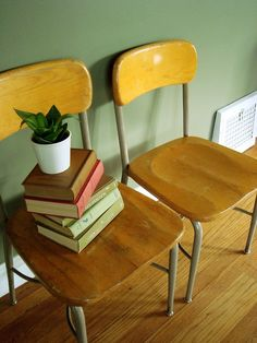 School chairs - nostalgia
