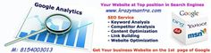 """""""Google Analytics"""" could be shall, as I discussed in my alternative article. It is a free script that you just will place at intervals your site's HTML and it permits you to track traveler information past and gift. #seopromotionservices #seoservicesinahmedabad http://seopromotionservices.tumblr.com/post/109371114653/quickest-way-to-seo-promotion-services-to-promote"""