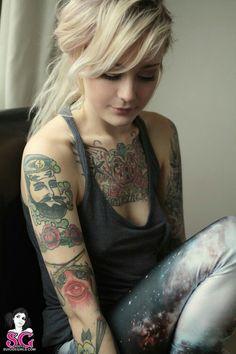 Tattooed Suicide Girl